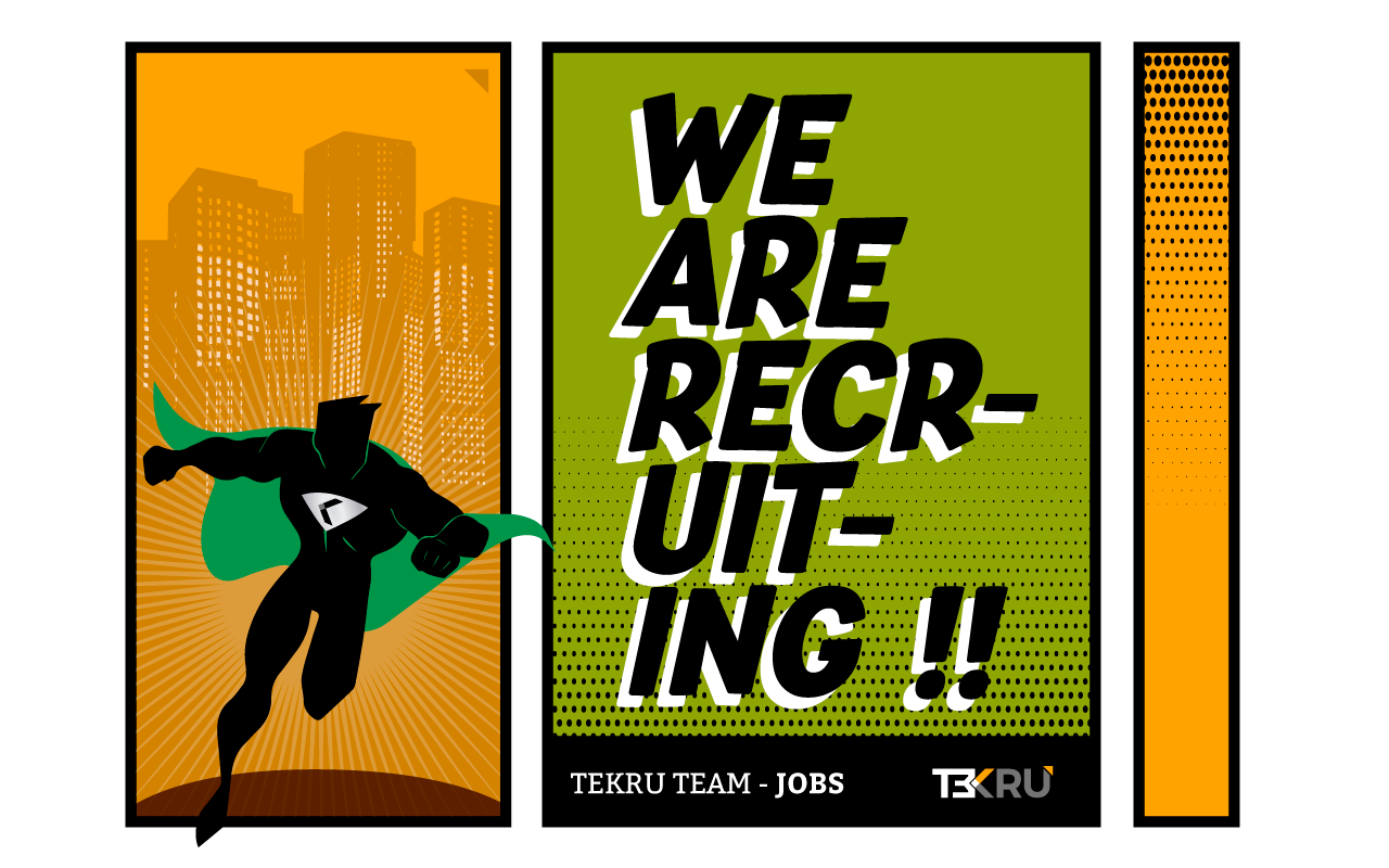 Tekru Technologies, we are recruiting ||